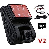 VIOFO A119 2.0 TFT LCD Screen Capacitor Novatek 96660 H.264 2K HD 1440p 1296P 1080P Car Dash Camera DVR (A119 with GPS +64GB+Hard Wire)