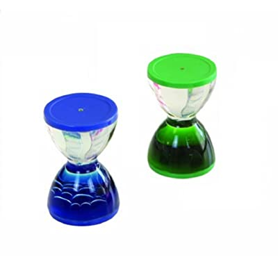 Mini Hour Glass (Pack of 2; Age 6+): Toys & Games