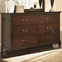 Coaster Home Furnishings 202393 Casual Contemporary Dresser, Espresso