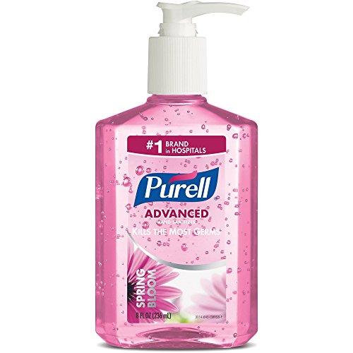 (GOJ301412 - Spring Bloom Instant Hand Sanitizer, Sweet Pea, 8-oz. Pump Bottle,)