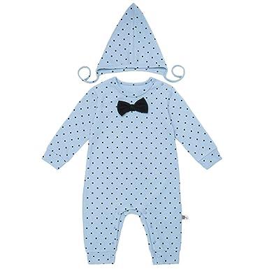 e10ea8efe Amazon.com  Teeker Unisex Baby Jumpsuit Cotton Onesies Romper Dot ...