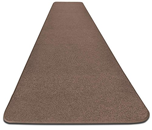 House, Home and More Outdoor Carpet Runner - Brown - 3 Feet x 10 Feet (Outdoor Decks For Best Carpet)