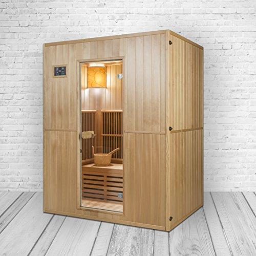 /Especial Acci/ón. Trade-Line-Partner Combinaci/ón Modelo de sauna /& cabina de infrarrojos en un./