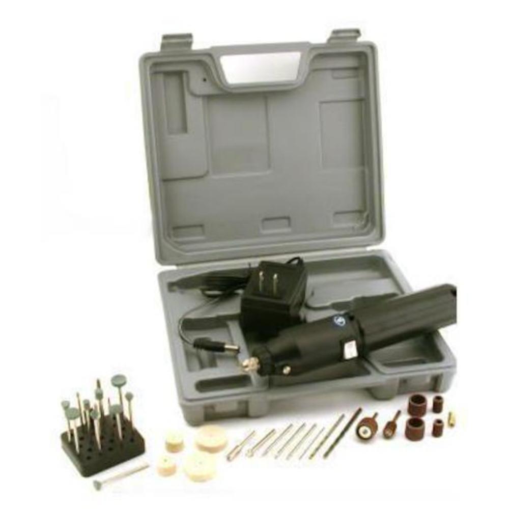 Generic 34pc Cordless Drill Kit Drilling Sanding Rotary Tools
