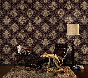 Lounge Barock Rasch Tapete BESTSELLER 156645 gold braun: Amazon.de ...