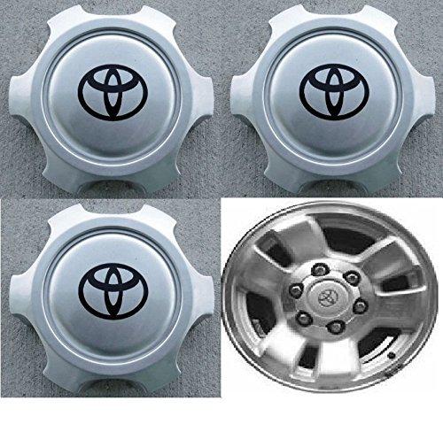Toyota 4runner Center Caps - 4pcs Wheel Center Hub Caps Tacoma 4Runner T100 6 lugs ONLY 15