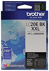 Brother LC20EBK Super High Yield Cartridge