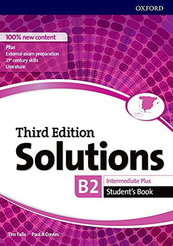 51bogrNLmCL Solutions intermediate plus student's book third edition 2017 editado por Oxford