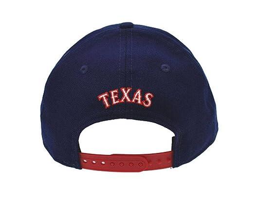 New Era 9 FIFTY para hombre gorra Texas Rangers gorro Cap Royal Blue Major f58e8165504