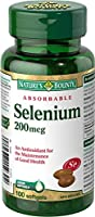 Nature's Bounty Selenium 200mcg 100 count