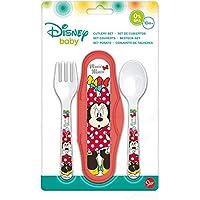 Disney-45314 Minnie Estuche con 2 Cubiertos, (STOR 45314)