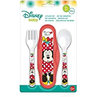 Elemed 45314 Toddler Pp Cutlery Travel Set 2 Pièces