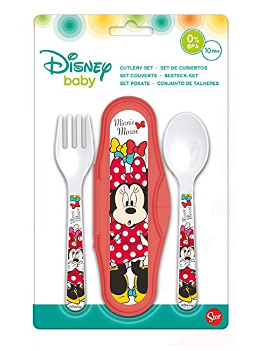 Elemed 45314 Toddler PP Cutlery Travel Set
