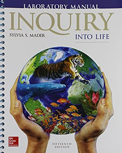 amazon com lab manual for inquiry into life 9781259688614 sylvia rh amazon com inquiry into life 15th edition lab manual pdf inquiry into life lab manual answers