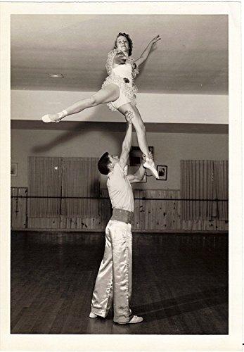 Home Comforts Laminated Poster Acrobatics Costumes Vintage Dance Adagio Studio (Acrobatic Dance Costume)