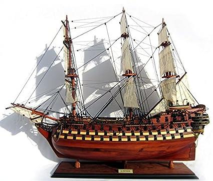 Flipmaquette - Maqueta de buque (madera, 63 cm), diseño del navío La ...