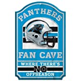 Carolina Panthers Nfl Wood Sign - 11x17 (fan Cave