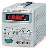 Instek GPS-3030D 90W Single-Output Linear DC Power Supply with 0.5'' Digital LED screen, 30V DC, 3 Amp