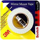 3M Mirror Mounting Tape, 12 mm x 2.5 m (1 Roll)