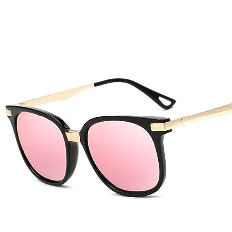 Wmshpeds Moda occhiali da sole di metallo, grande signora degli occhiali da sole, occhiali da sole di tendenza