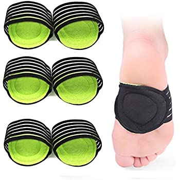 3Pairs Compression Fasciitis Cushioned Support Sleeves, Plantar Fasciitis Foot Relief Cushions for Plantar Fasciitis, Fallen Arches, Heel Spurs,Achy Feet Problems for Men and Women