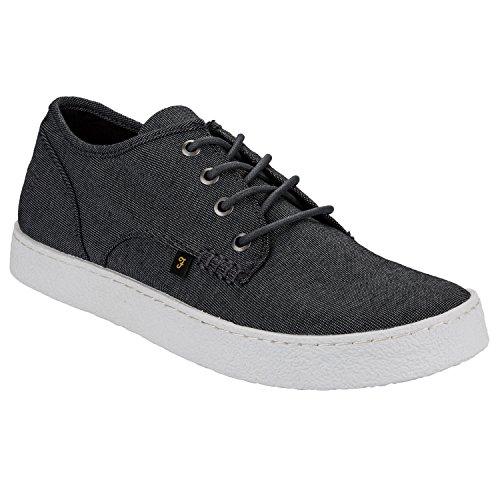Farah , Chaussures de ville à lacets pour homme - Noir - noir, 45