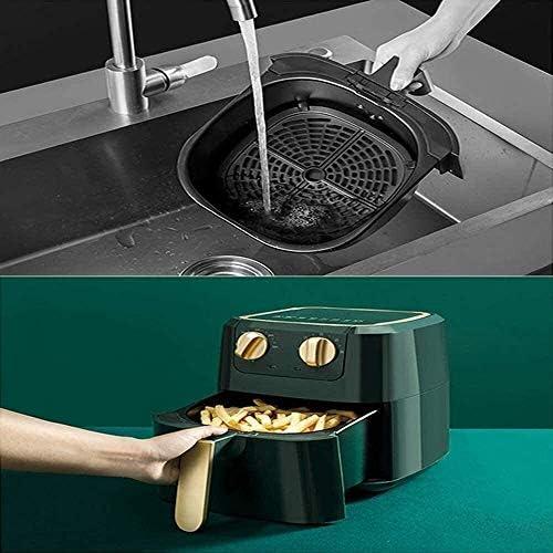 Air Fryer sans huile bâton non-four avec fonction de contrôle de la température du temps et de la température Pizza Fries silicone poignée de échaudage grande capacité 5L