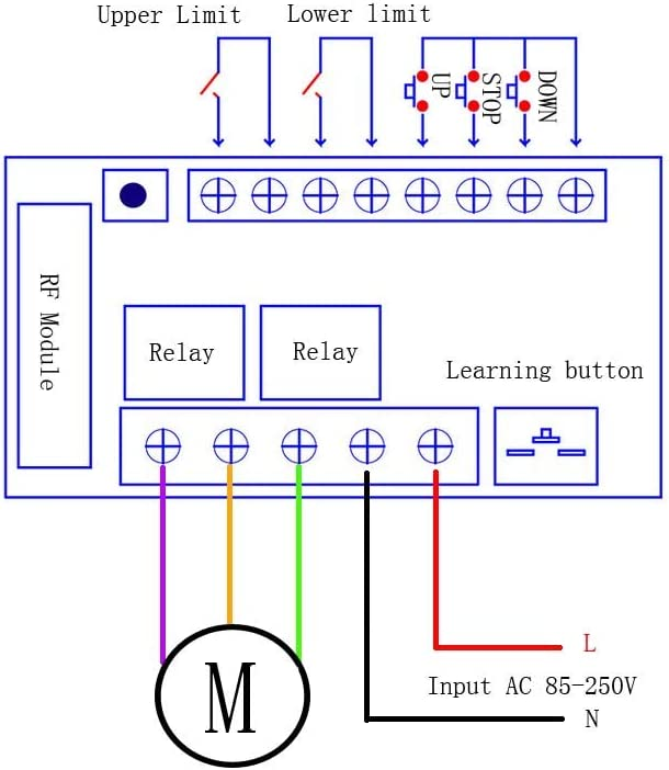 Ceiling Fan Motor Wiring Diagram Bypass Remote Module Direct Wire from images-na.ssl-images-amazon.com