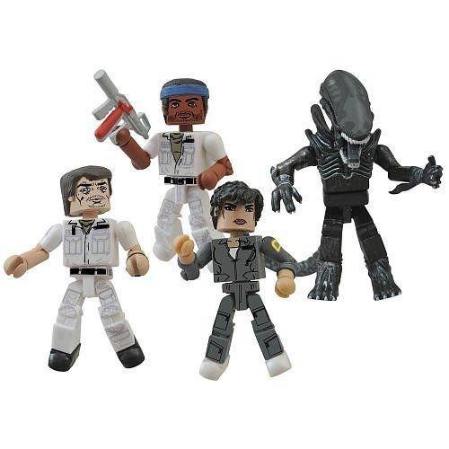 Diamond Select Toys Alien Minimates 35Th Anniversary Box Set ,#G14E6GE4R-GE 4-TEW6W270430