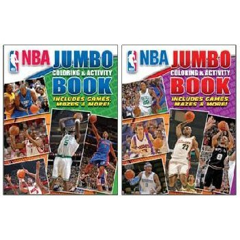 NBA Basketball Coloring Books