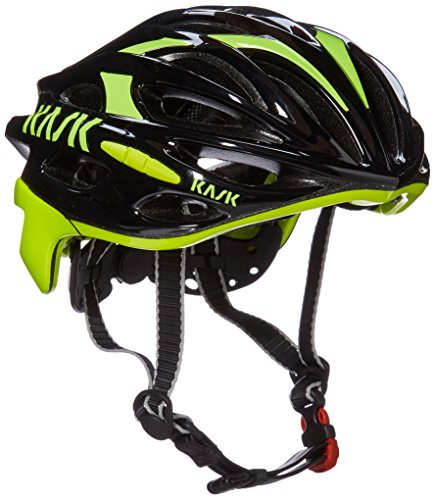 - Kask Mojito Helmet, Black/Fluo Yellow, Large