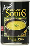 Amy's Organic Soups, Low Fat Split Pea, 14.1 Ounce (Pack of 12)