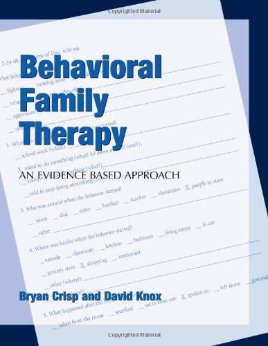 Behavioral Family Therapy