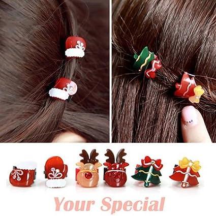 usongs random candy-colored side folder hairpin small gripper hairpin bangs super mini love star