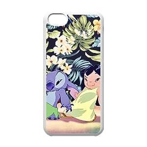 Lilo & Stitch iPhone 5c Cell Phone Case White Fantistics gift A_062172