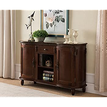 Amazon Com Furniture Of America Cm3319sv Bellagio Brown
