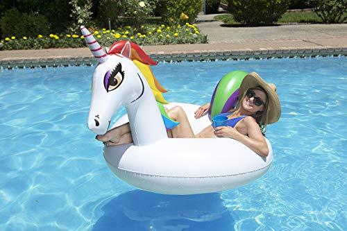 Poolmaster 48-Inch Swimming Pool Float Party Tube, Unicorn