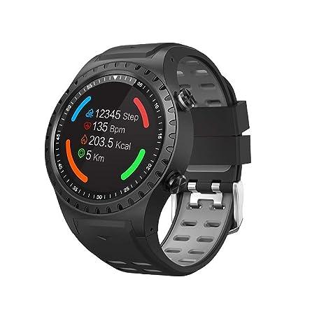 AsDlg GPS Sport Watch Fitness Tracker Insertar Tarjeta Deportes Relojes Inteligentes para Hombres con Monitor de