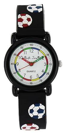 Armbanduhr kinder scout  Pacific Time Kinder-Armbanduhr Fussball Armbanduhr Kinder Jungen ...