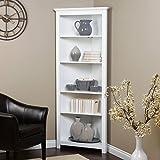 Finley Home Redford Corner Bookcase -
