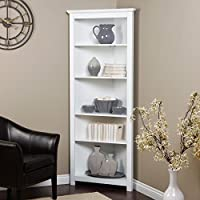 Finley Home Redford Corner Bookcase -