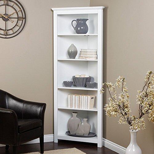 Finley Home Redford Corner Bookcase –