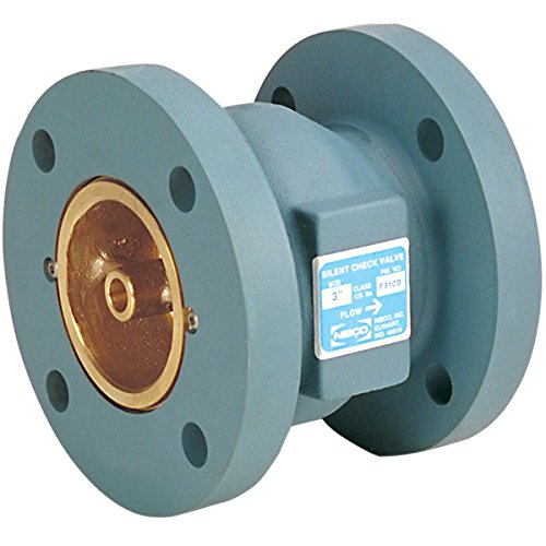 NIBCO  F910B-LF Silent Check Valve   Lead-Free, Class 125, Flanged, Bronze Seat, 3''