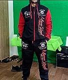 Hakjay Men's Hiphop Dance Jogger Casual Tracksuit