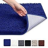 VDOMUS Soft Microfiber Shag Bath Rug Absorbent Bathroom Mat,32