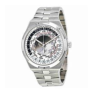 Vacheron Constantin Overseas World Time Silver Dial Mens Watch 7700V/110A-B129