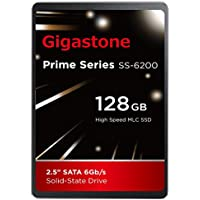 Gigastone 128GB SSD Intel MLC 2.5 SATA 3 Solid State Drive [Performance HD Upgrade for HP Dell Samsung Sony Asus PC, Apple Mac Macbook, Laptop, Notebook Ultbook, Gaming, Video Editing, Server, Raid]