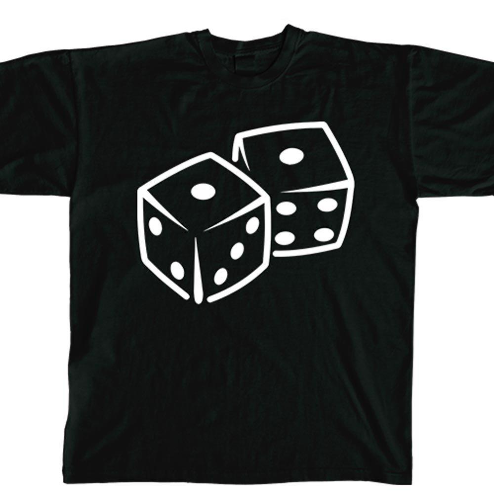Amazon.com: Stickerslug Black Snake Eyes Dice Unisex Crewneck Cotton  Graphic t-Shirt, Size XXX-Large: Clothing