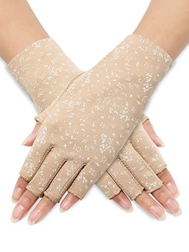 Sunblock Fingerless Gloves Summer