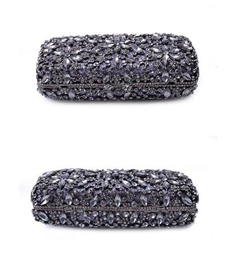 Bride High grade Bag Fashion Women's Clutch Package Diamond Diamonds Luxury Gold xgZTF0q